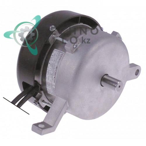 Мотор Elettromeccanica 125-40/577 вал ø17мм L-27мм корпус D154мм H-130мм 00000000577 для слайсера RGV 350