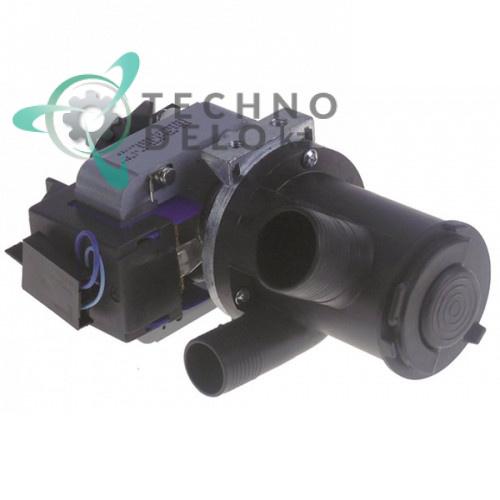 Насос сливной GRE ø30/ø22мм 100Вт 230В 100803 посудомоечной машины Comenda BHC/LB/LC и др.