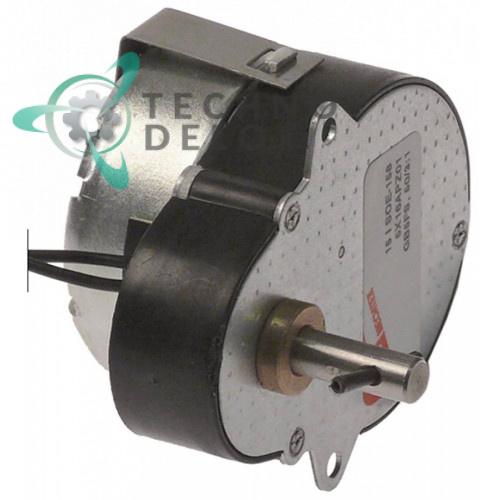 Мотор-редуктор Mechtex 230В вал ø6мм 66x48x36мм для сокоохладителя CAB и др.