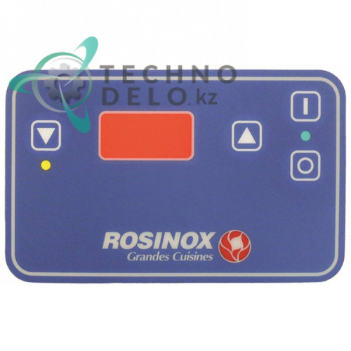 Стикер 94034345, RX94034345 148x91мм 4 кнопки панели управления промышленной фритюрницы Rosinox