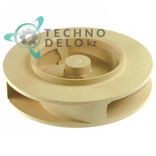 Крыльчатка к помпе LGB ZF400SX ø 104мм H25мм M8L 124031 для посудомоеч. оборудования Mastro, MBM и др.
