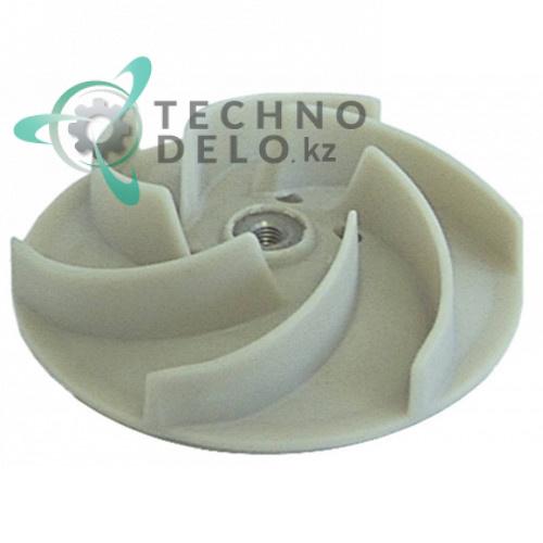 Крыльчатка насоса FIR (ø124 H34/16мм) DW88222 для посудомоечной машины Comenda, Dihr, Olis и др.
