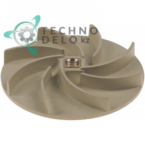 Крыльчатка (рабочее колесо) ø 103мм / H-14мм резьба M10L тип насоса ZF210SX