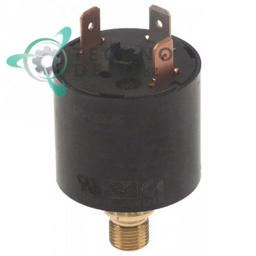 Прессостат давления ø 35 регулируемый 0,2-6,0 бар 250В / универсальный