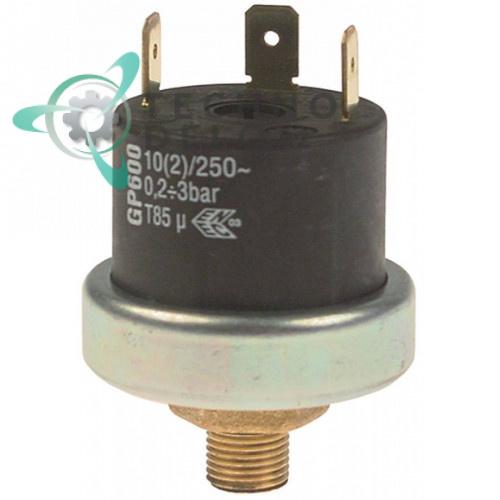 Прессостат реле давления (0,2-3,0 bar) тип GP600 код 3041830 для Angelo-Po, Sagi, Convotherm, Repagas и др.