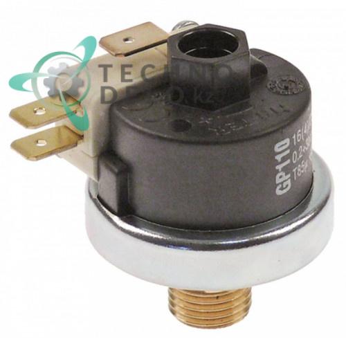 Прессостат (реле давления) MA-TER 200-3000 мбар 16A 230V DW3060195 для Dihr Twin Star, Kromo и др.