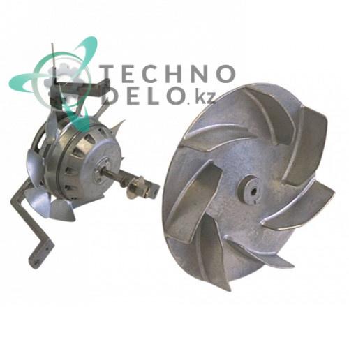 Вентилятор EBM-Papst R2S170-AA06-29 230В 47Вт диаметр крыльчатки D-165мм для кухонного теплового оборудования