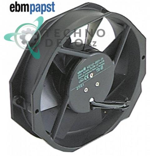 Вентилятор осевой EBM-Papst 7056ES 172x150x38мм 230VAC 27/28Вт 74845068 3101.1013 для Afinox, Fagor, Rational и др.