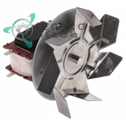 Электромотор-вентилятор 55Вт 230В для оборудования Unox, Bartscher, Coven, Electrolux и др