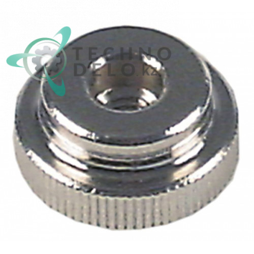 Гайка с накаткой ø20мм толщина 9мм резьба M6L IG 33202217 для фиксации крыльчатки вентилятора ebm-papst для Rieber