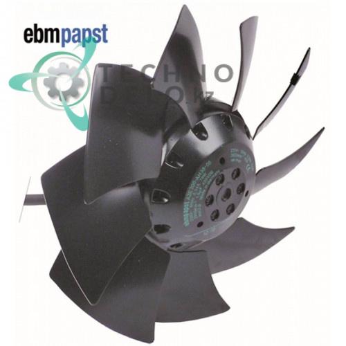 Вентилятор EBM-Papst  A2E200-AH38-01 230В 78Вт 2600 об/мин крыльчатка D-200мм 270222500 для Irinox, Polaris и др.