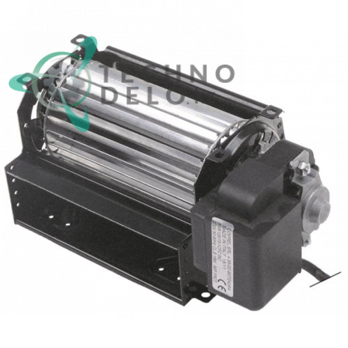 Вентилятор-электромотор Coprel FFR 230В 19Вт D-60мм L-120мм от -10 до +60°C холодильное оборудование кабель L-2000мм