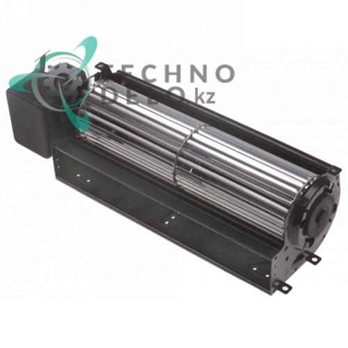 Вентилятор-электромотор Coprel FFL 25Вт 230В ø60мм L-240мм -10 до +60°C кабель L-2000мм холодильного оборудования