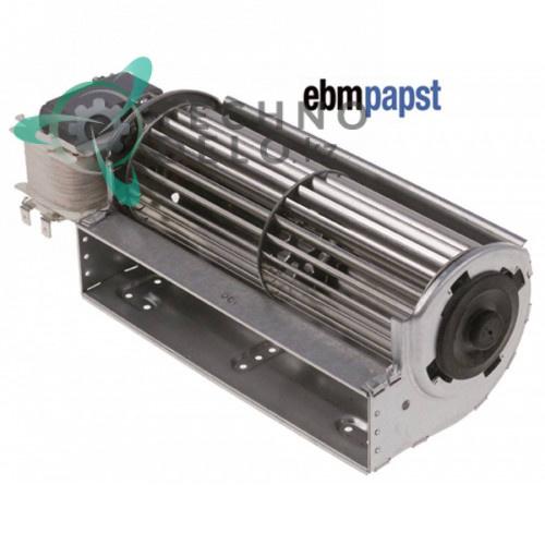 Вентилятор тангенциальный EBM-Papst QLZ06/0018-2518 D-60мм 230В 30Вт 304X25 холодильного оборудования Infrico