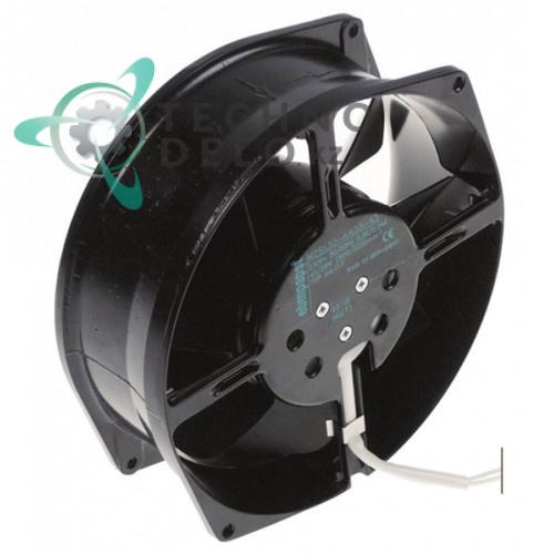 Вентилятор осевой (кулер) EBM-Papst 172x150x55мм 230VAC 38/41Вт с шарикоподшипник для холодильного оборудования