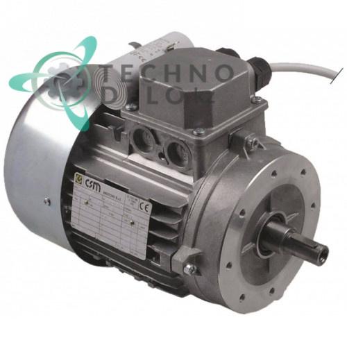 Мотор CSM MM90S6 230В 750Вт 1 фаза LF1810502 вал ø18мм ø180ммx220мм ленточной пилы для мяса Sirman SO 1800-2020