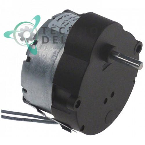 Мотор-редуктор CDC BT03 M48L ATS 2,5Вт 230В 500 об/мин длина провода 250мм 55x36x58мм для льдогенератора и др.