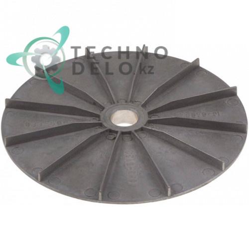 Крыльчатка охлаждения мотора Hanning ø180/ø20мм H-20мм 3001.0803 3001.0804 30010804 печи Rational
