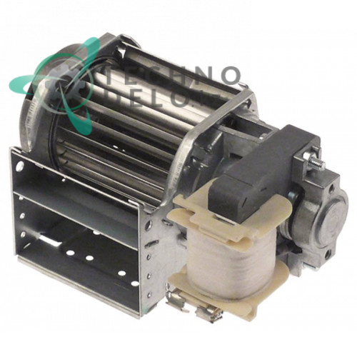 Вентилятор тангенциальный EBM-Papst QLK45/0600-2513 230В 15Вт крыльчатка D-45мм L-60мм для холодильного оборудования и др.