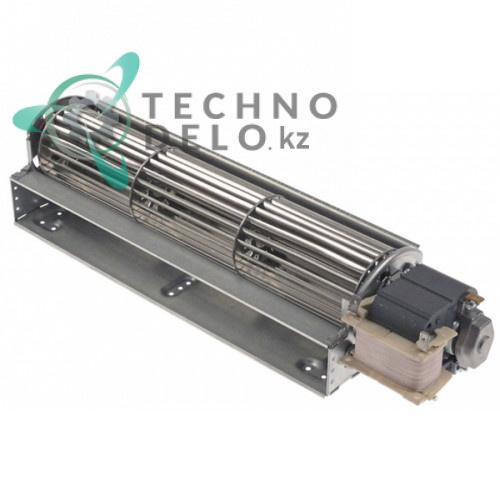 Вентилятор тангенциальный EBM-Papst QLZ06/3000-3038 45Вт крыльчатка D-60мм L-300мм 0 до +60°C 55412.60600