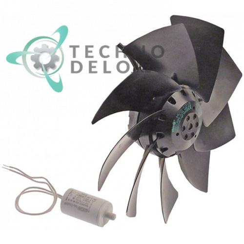Вентилятор EBM-Papst A4E250-AI02-09 (230В 45/48Вт) для аппарата шоковой заморозки Afinox