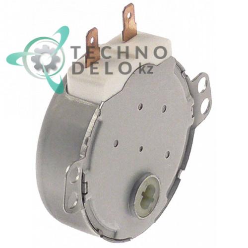 Мотор-редуктор Elensys SM16 HK36M0HZ 3,5Вт 220-240VAC 10-12 об/мин вал 6,5x4,5мм RMOTDA310WRZZ СВЧ печи Sharp и др.