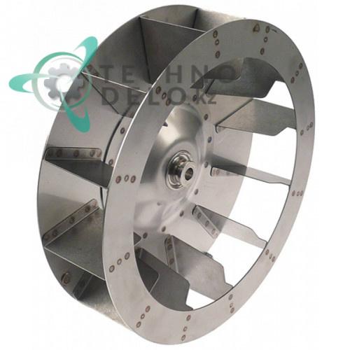 Крыльчатка электромотора ø 320mm H1 83mm 12 лопастей AX09-0001 Retigo