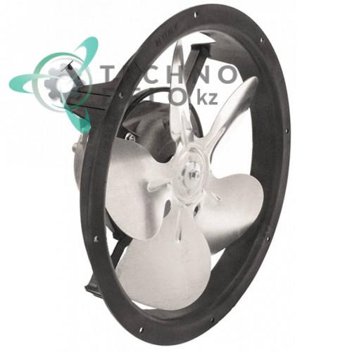 Вентилятор Elco 230В 10Вт D-250мм 1300/1550 об/мин крыльчатка 200мм 00-599687 холодильной камеры Foster, MBM