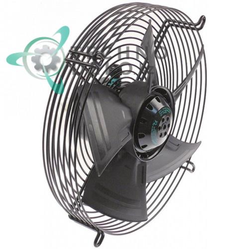 Вентилятор EBM-Papst A4E300-AS72-06 230В 72/90Вт 1320/1500 об/мин крыльчатка D-300мм 5 лопастей VENTBA5T для Tecnodom