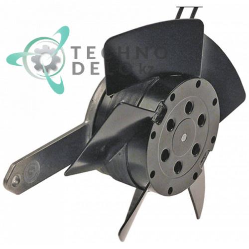 Вентилятор EBM-Papst 4586TZR 924.4014.949 230В 13Вт 2600 об/мин с шарикоподшипником длина провода 340мм