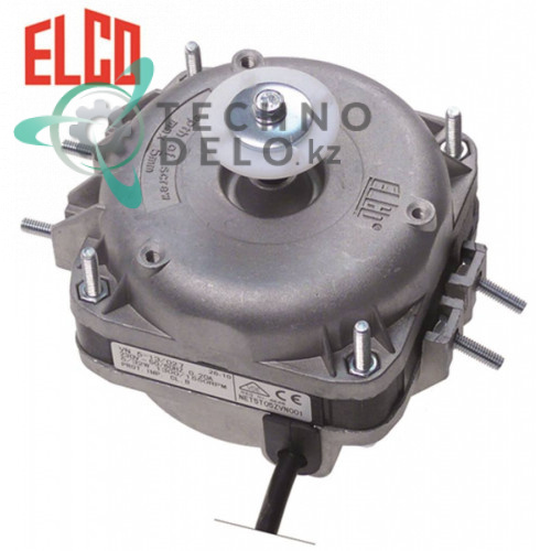 Мотор вентилятора VNT5-13/027 7Вт 230В 1300/1550 об/мин подшипник скольжения для холодильного оборудования