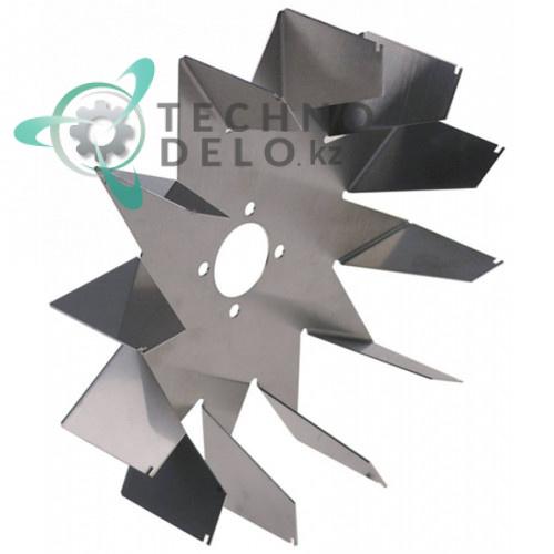 Крыльчатка ø170мм/ø25мм H42.5мм вентилятора Aspen для печи TurboChef C3/C3AB/C3C