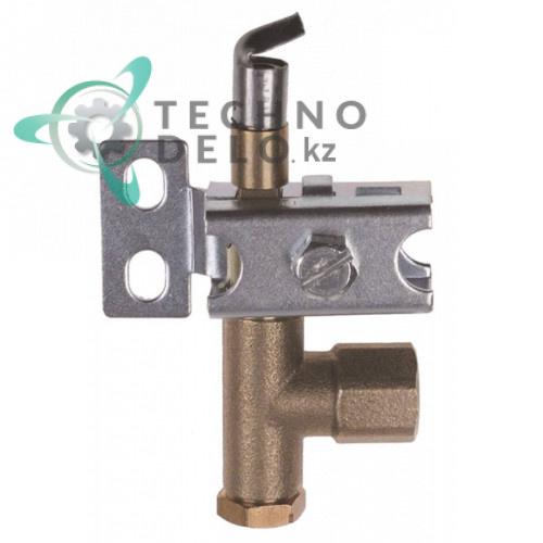 Горелка для конфорки PRO-GAS серия 100 однопламенная дюза 0,2мм 12110410 для Gasco, Bertos, Fagor, Tecnoinox и др.