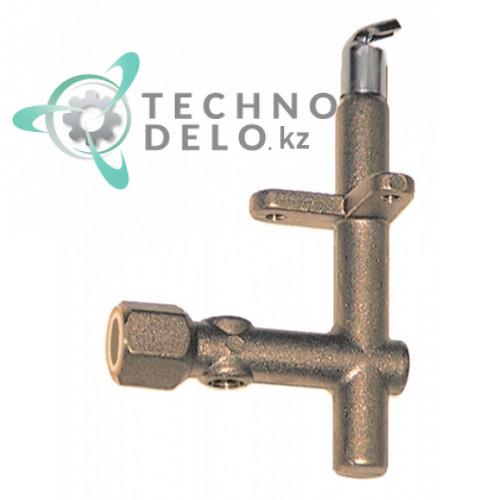 Горелка конфорочная однопламенная 6000170 для профессионального теплового оборудования Angelo Po и др.