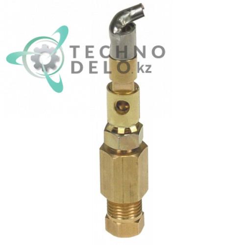 Горелка конфорочная SIT серия 100 однопламенная дюза ø0.4мм тип C для теплового кухонного оборудования