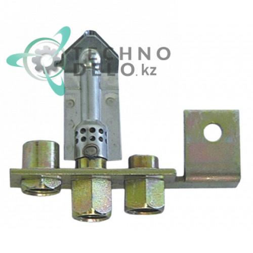 Горелка Polidoro 20 тип A 3-х пламенная сжиженный газ 808524 10042 для теплового оборудования Emmepi, Icos и др.