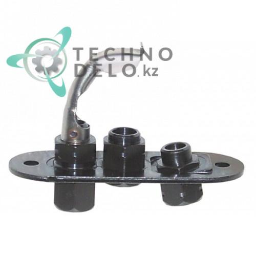 Горелка конфорочная SIT 0.140.104 тип серия 140 однопламенная RC01169000 005503 для Tecnoinox, Zanussi и др.