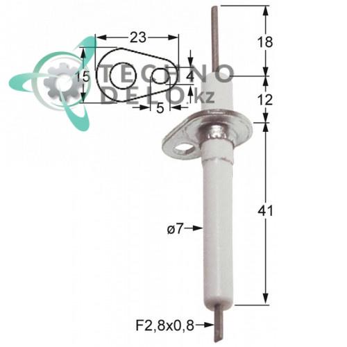 Зажигательный электрод 034.100818 universal service parts
