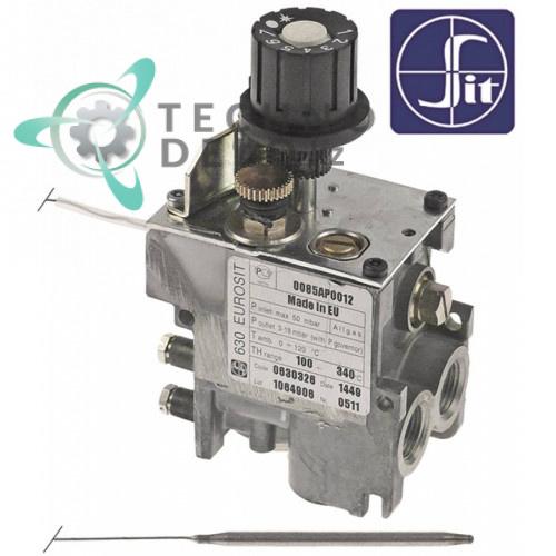 Термостат газовый SIT серия 630 Eurosit 100-340°C для оборудования Bartscher, Bertos, Casta и др.