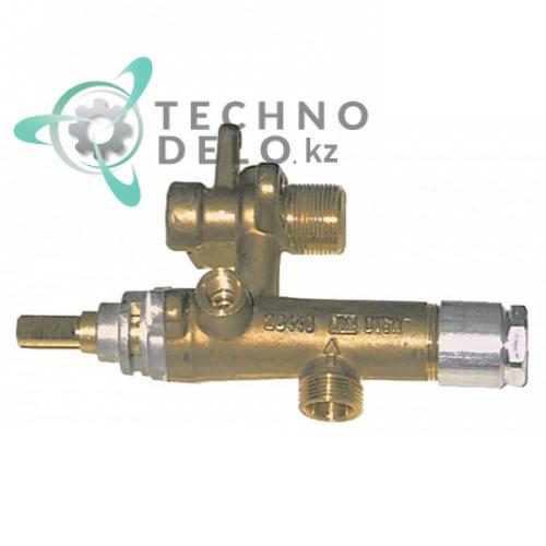 Кран газовый EGA серия 26440 5018902393 5018918655 для профессионального теплового оборудования Ambach (плита GZE-70) и др.