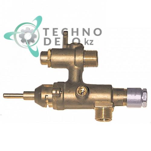 Кран газовый EGA серия 24197 для профессионального теплового кухонного оборудования