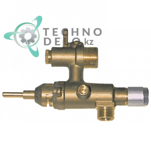 Кран газовый EGA серия 24197 290874 для профессионального теплового оборудования Palux (плиты Maxima 700, Maxima 850)