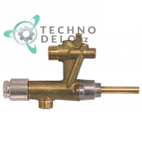 Кран газовый EGA серия 31849 21439 для профессионального теплового кухонного оборудования Schöler, Suprema и др.