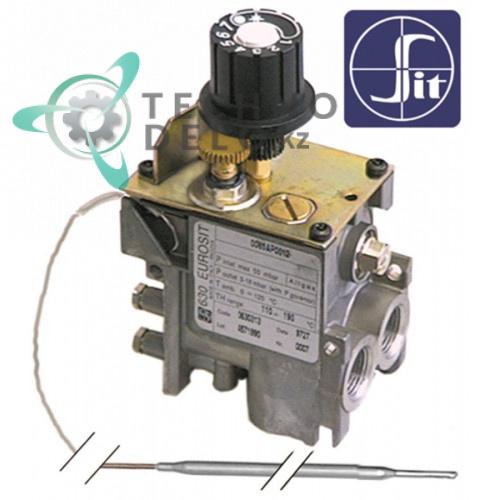 Термостат газовый SIT серия 630 Eurosit (110-190°C) для оборудования Ambach, Baron, Tecnoinox и др.
