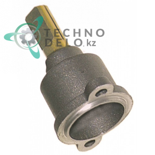 Ось регулировочная для газового крана PEL22  (ø оси 10x8мм длина оси 25/17мм)