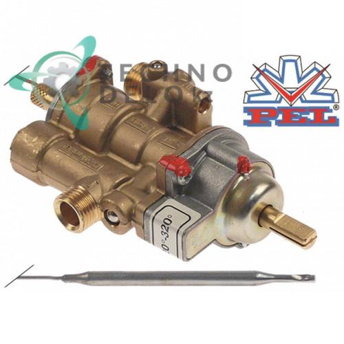 Термостат газовый PEL тип 25ST (120-320°C / вход для газа M16x1,5 / труба-ø 10 мм)