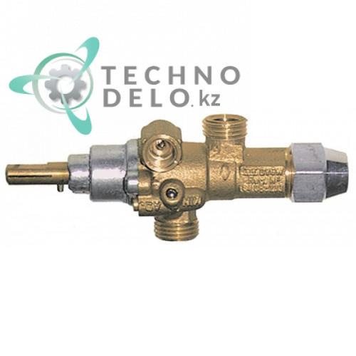 Газовый кран PEL 21/S для оборудования Electrolux, GIGA, Ilsa, Lotus и др. (арт. 7988B-27)
