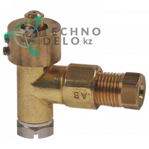 Горелка конфорочная (нижняя часть) EGA тип A сжиженный газ отверстие ø0.2мм 0G2037 0H6316 плиты Electrolux, Juno