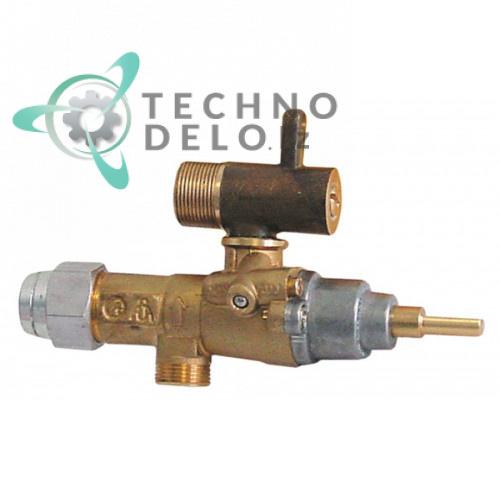 Кран газовый (аналог EGA) альтернатива EGA 196.101604 service parts uni