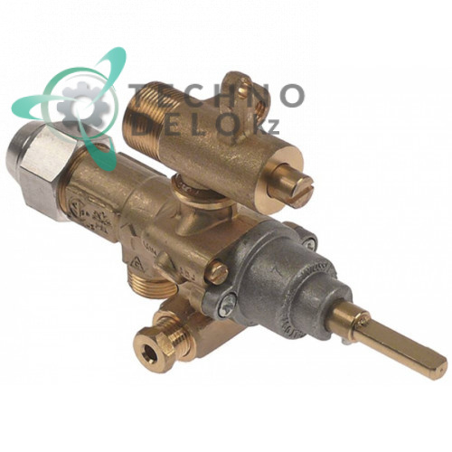 Кран газовый (аналог EGA) альтернатива EGA 196.101606 service parts uni